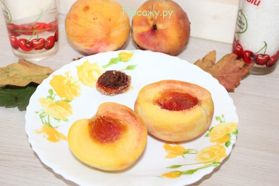 Персики без костоки