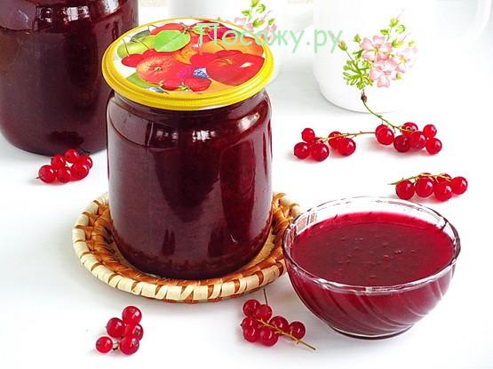 Джем из вишни и красной смородины на зиму рецепт