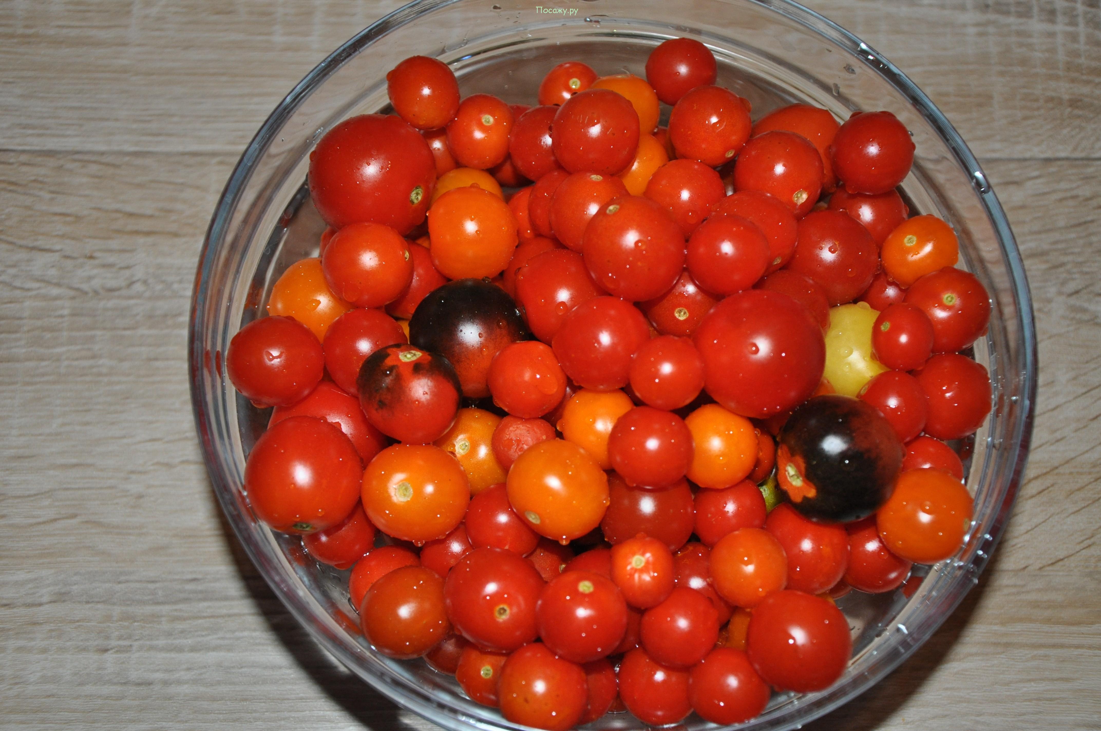перебираем помидоры