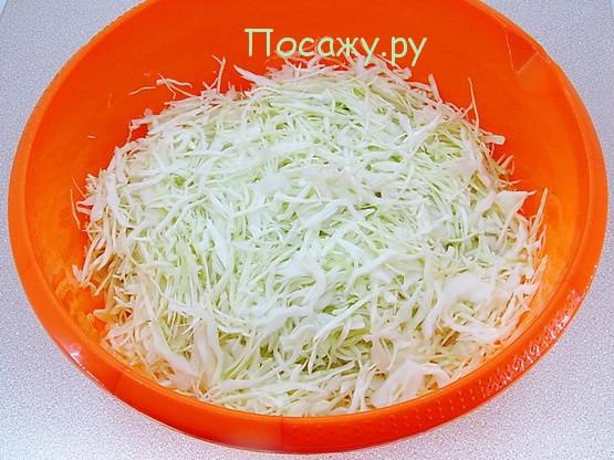 нарезать капусту