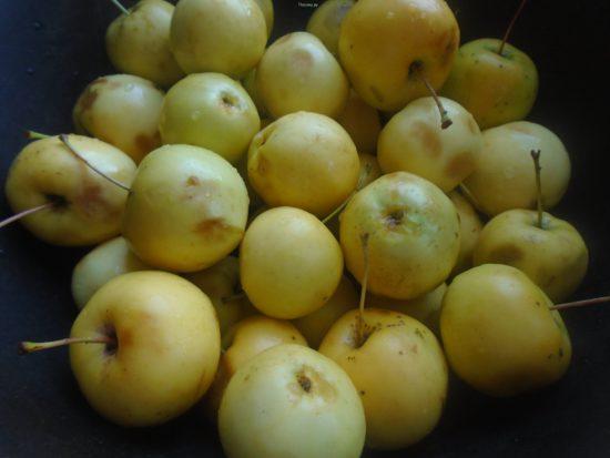 отбираем яблоки