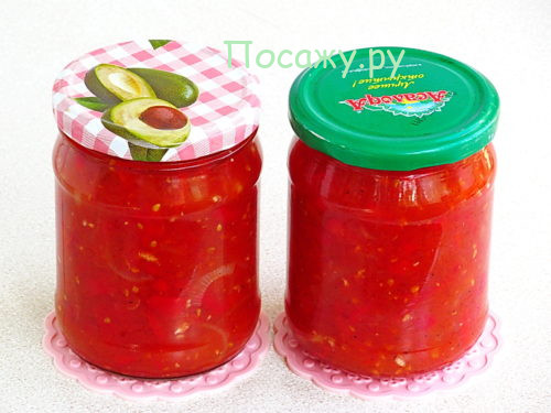 вкусный лечо из помидров и перца на зиму